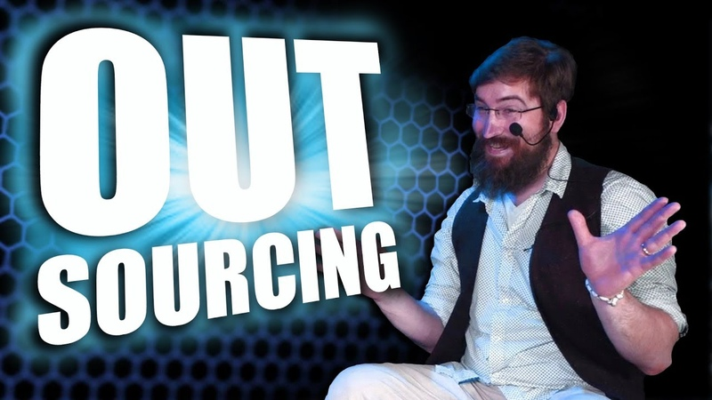 OUTSOURCING 🐟 Piranha Becken TV