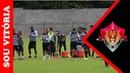 Vitória finaliza preparação e relaciona 22 jogadores para duelo contra o Cruzeiro