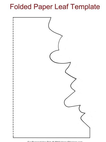 Как сделать кленовые листья из бумаги - AVTOpantera.ru
