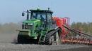 John Deere 8360RT Going Hard in The Field Seeding w/ 9-Meter Väderstad Spirit 900C | DK Agri