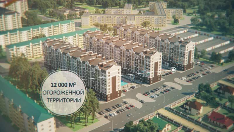 Жилой комплекс Приозерный в Лисках