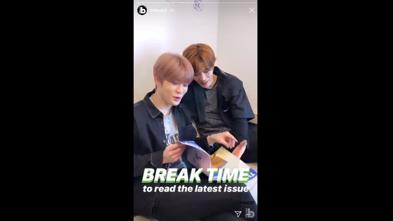 Billboard - break time; special deliver; say cheese