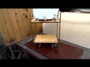 Мебель из металла и дерева своими руками Самодельный мини столик металлический