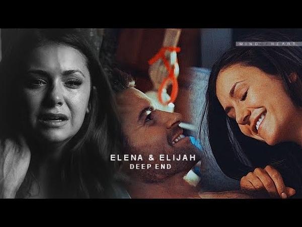 ● AU || Elijah Elena (ft.Stefan) || Deep End { FOR SISSI }