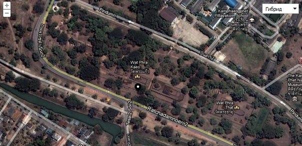 Карта исторического парка Кампэнгпет 1