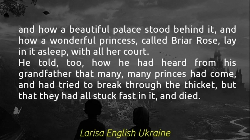 Briar Rose. Part 2 - Short Stories Fairy Tales by the Brothers Grimm