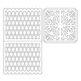 Бумажное кружево схемы