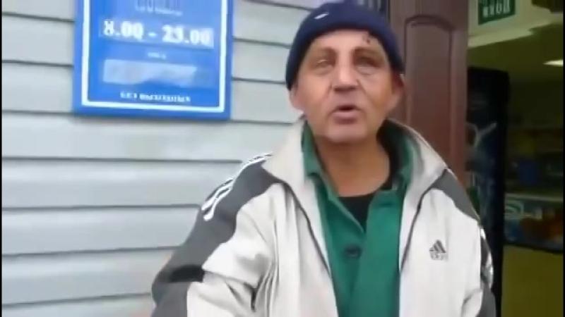 Бомж из Данилова читает стихи360px