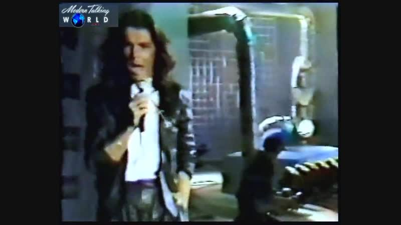 Modern Talking - Atlantis Is Calling (S.O.S. For Love) (RTL Luxembourg, Le Hit des clubs, Belgium, 12.08.1986}