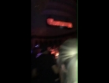 August 29: Fan taken video of Justin at the Peppermint Club in Los Angeles, California.