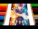 Speed Drawing - Shōto Todoroki Boku No Hero Academia/My Hero Academia 僕のヒーローアカデミア COLLAB