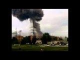 В поселке Нагорный в Самарской области взорвался склад с боеприпасами.