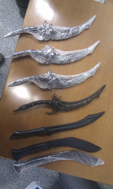 Нож эльфийский своими руками 389