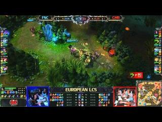 FNC vs GMB - LCS 2013 EU Spring W8D1 (English)