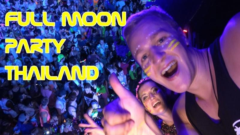 Full Moon Party KOH PHANGAN Thailand Dropin