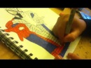 Lets Draw The Amazing Spiderman part 2