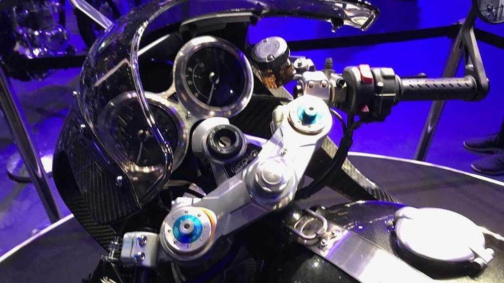 Лимитированный мотоцикл Triumph Thruxton R TFC 2019