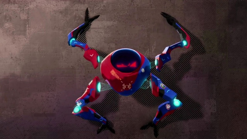 Spider-Man: Into The Spider-Verse - Meet Peni Parker and SPdr