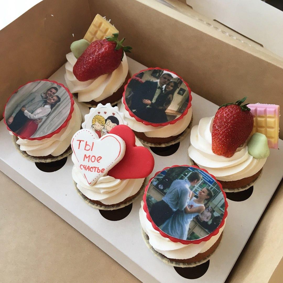 Пирожные с фотопечатью картинки