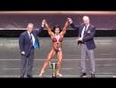 Женский классический бодибилдинг, абсолютная категория на Чемпионате Мира по Фитнесу 2017 (Биарриц, Франция), награждение