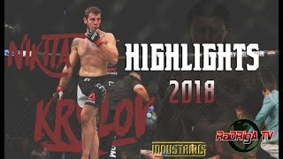 Nikita Krylov Welcome Back in UFC Highlights 2018 | Никита Крылов RaDRigA-TV