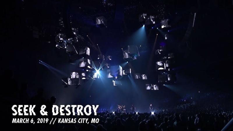 Metallica Seek Destroy (Kansas City, MO - March 6, 2019)