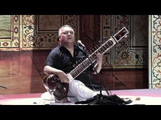 Ghazal. Ustad Shujaat Khan (sitar). Video 4K UHD. Газал. Суфийская музыка. Шуджат Кхан. 19.04.17