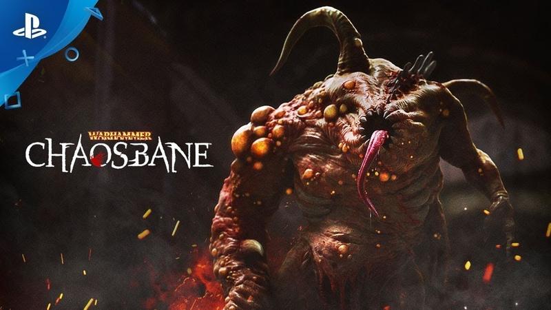 Warhammer: Chaosbane – Gameplay Trailer   PS4