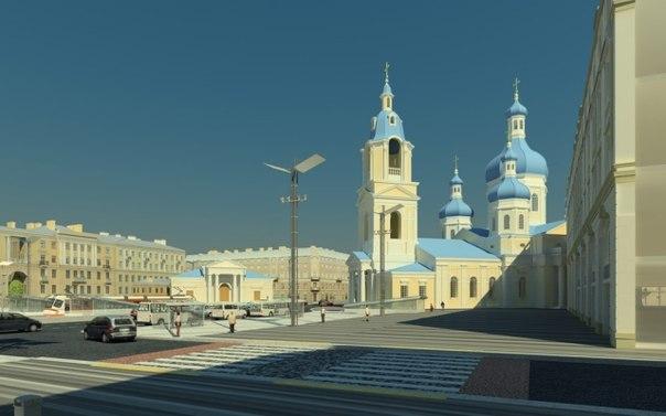 Реконструкция Сенной площади