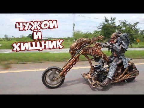 Чужой и Хищник Лучшие Приколы BugagaTV