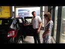 Выдача автомобиля Renault SANDERO в ДЦ Авто-Белогорье