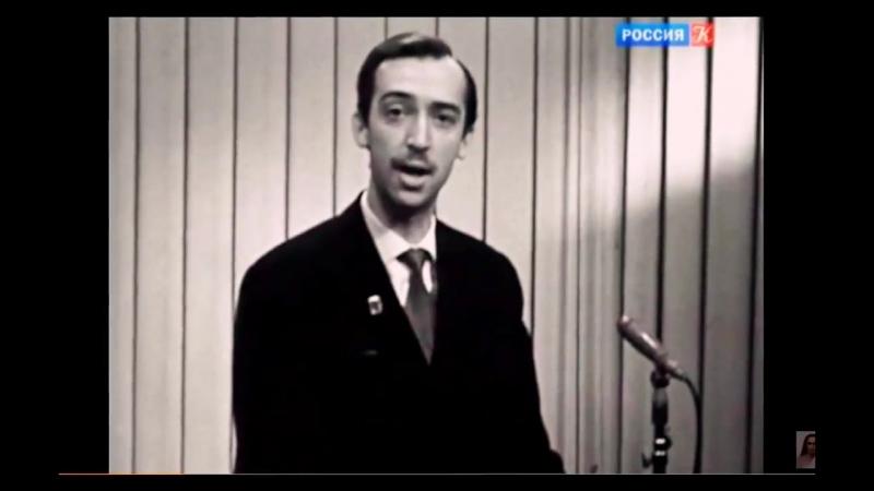 Сатирик Александр Иванов. ТВ Культура. Классика жанра.
