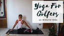 STRETCHING FOR GOLFERS 20-Minute All Levels Yoga CAT MEFFAN