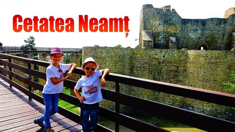 Cetatea Neamtului din Targu Neamt | Cetati medievale din Moldova (2018)