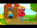 ЗВЕРУШКИ - КУКУТИКИ развивающая детская песенка как говорят животные для детей,