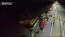 Видео с места столкновения двух автобусов на трассе М 4 Дон