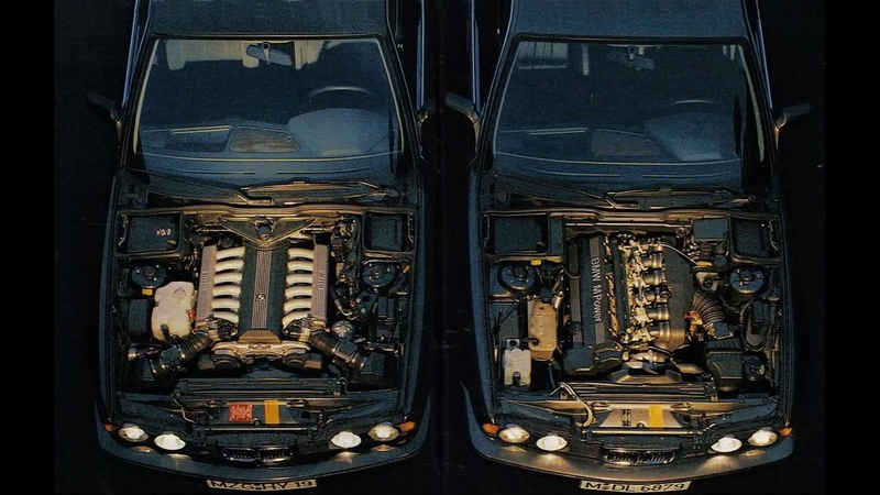История BMW M5 E34 6 цилиндров которые рвали V8 и V12
