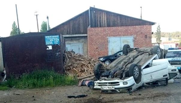В Усть-Илимске в ДТП погиб 57-летний водитель иномарки