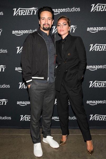 Гости студии «Variety Studio: Actors on Actors 2018» Арми Хаммер и Дакота ДжонсонЛеди Гага и Лин-Мануэль Миранда