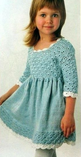 Платье для девочки. (3 фото) - картинка