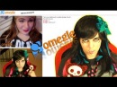 EMO GIRL does OMEGLE chat