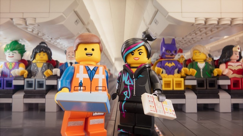The LEGO Movie Characters present Safety Video Turkish Airlines