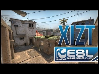 CSGO : EMS One Katowice 2014 Final ~ Ninja in Pyjamas. Xizt - 4k Glock/M4A1-S against Virtus Pro
