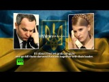 Time to grab guns and kill damn Russians -- Tymoshenko in leaked tape