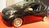 Toyota Aygo 2006 Tuning 1.0 12v 80 hp Stance-Wheels Encore gold 8j x R15  -  Exterior Lookaround