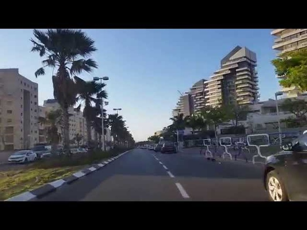 Car Tour in Ashdod. Israel. 2015.04.25