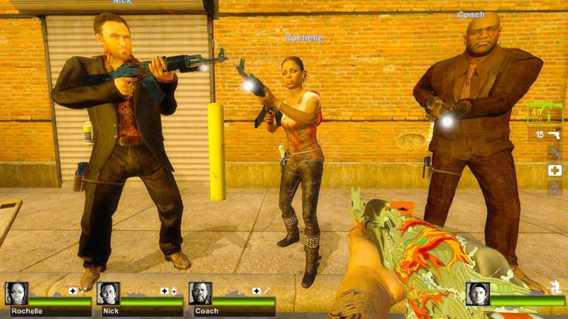 Left 4 Dead 2 Dead on Time 2 Custom Campaign Gameplay Walkthrough