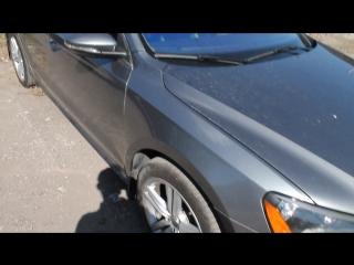 Покраска крыла переходом Volkswagen Passat B7