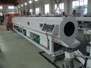 HDPE pipe machine with conical twin extruder and ink jet printer