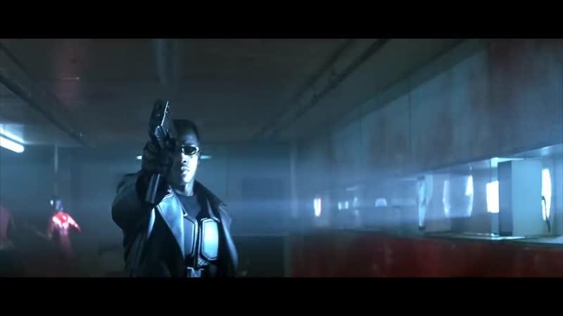 Блэйд - первая сцена встречи с вампирами (Уэсли Снайпс). HD 1080